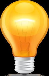psd-glossy-orange-light-bulb
